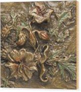 Buffalo Burr Flower Wood Print