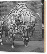 Buffalo Grand Junction Co Wood Print