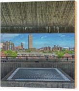 Buffalo New York Window Wood Print