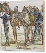 Buffalo Soldiers, 1886 Wood Print
