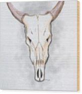 Buffalo Wood Print
