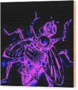 Bug 9 Wood Print