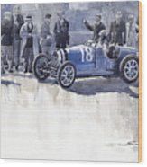 Bugatti 35c Monaco Gp 1930 Louis Chiron  Wood Print