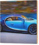 Bugatti Chiron 2 Wood Print