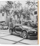 Bugatti Chiron 5 Wood Print