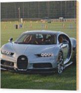 Bugatti Chiron Wood Print