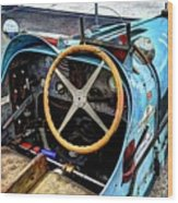 Bugatti Driver Side 1925 Wood Print