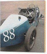 Bugatti Type 35 # 88 Wood Print