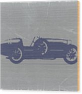 Bugatti Type 35 Wood Print by Naxart Studio