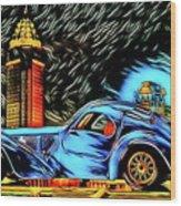 Bugatti Type 57 Atlantic 1930ies Wood Print