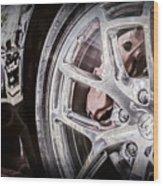 Bugatti Veyron Legend Wheel -0532ac Wood Print