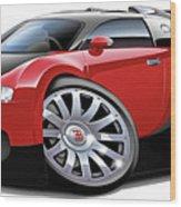 Bugatti Veyron  Wood Print by Maddmax