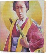 Bugeisha One Wood Print