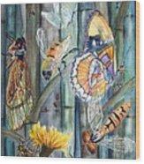 Bugs N Bamboo Wood Print