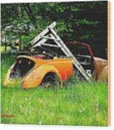 Bugsy Wood Print