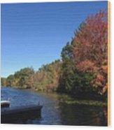 Buhl Lake Wood Print