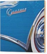 Buick Century Wheel Wood Print