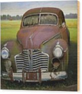 Buick Eight Wood Print by Doug Strickland