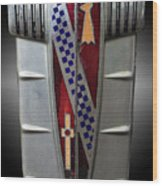 Buick Grill Emblem Wood Print