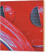 Buick Lasalle Portholes And Fender #3 Wood Print