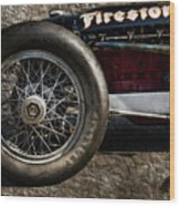 Buick Shafer 8 Wood Print by Peter Chilelli