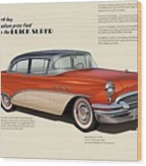 Buick Super Wood Print