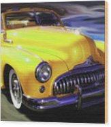 Buick Time Warp Wood Print