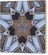 Building A Star Wood Print