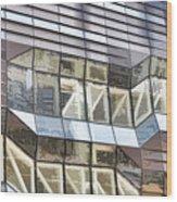 Building Closeup In Manhattan 10 Wood Print