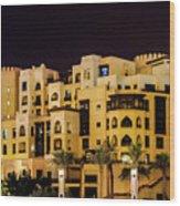 Dubai Architecture  Wood Print