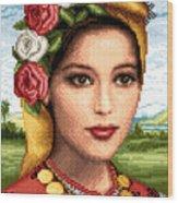 Bulgarian Beauty Wood Print