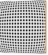 Bulge Dots Wood Print