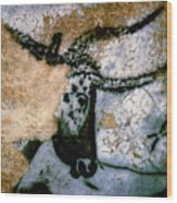 Bull: Lascaux, France Wood Print