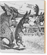Bull Moose Campaign, 1912 Wood Print by Granger
