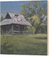 Bulldog Country Wood Print
