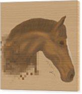 Bullet Wood Print
