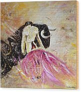 Bullfight 74 Wood Print