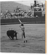 Bullfighting 36b Wood Print