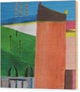 Bullring - Plaza De Toro. Wood Print