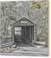 Bulls Bridge Wood Print