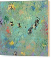 Bumblebees Wood Print by Helene Henderson