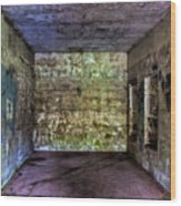 Bunker Walls Wood Print