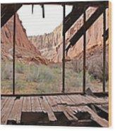 Bunkhouse View 4 Wood Print