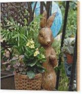 Bunny 63 Wood Print