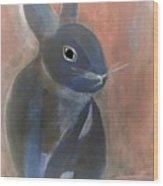 Bunny A Wood Print