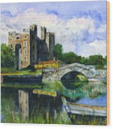 Bunratty Castle Wood Print