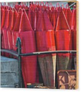 Buoys For The Mississippi Wood Print