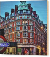 Burberry - London Underground Wood Print