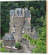 Burg Eltz Castle Wood Print