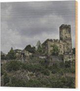 Burg Gutenfels 03 Wood Print